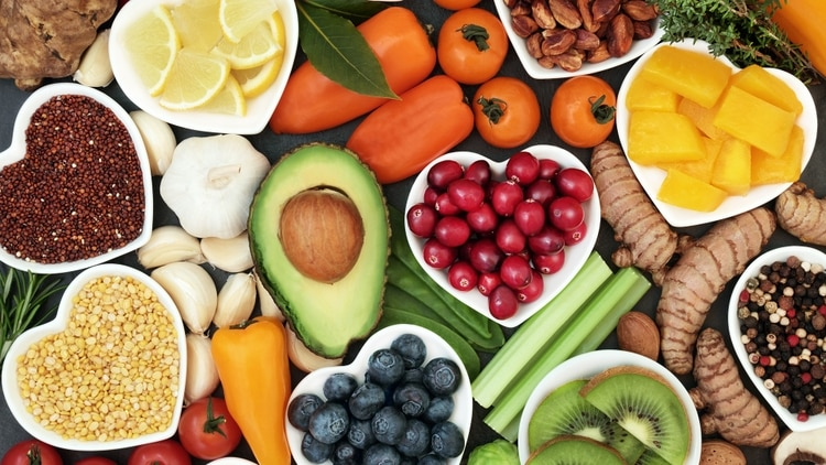 Antioxidantes saludables